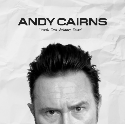 """Fuck You Johnny Camo"" Andy Cairns 2nd solo acoustic album"