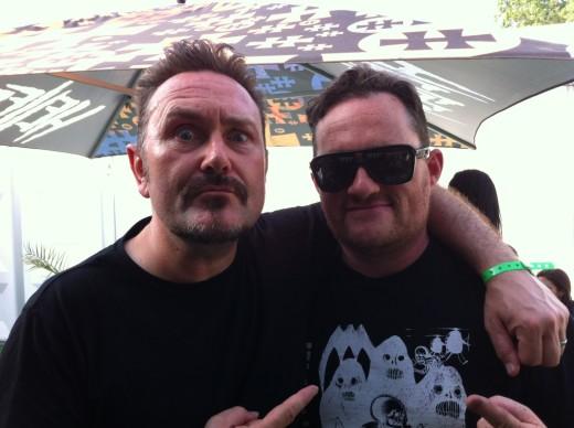 Andy and Jon Conan