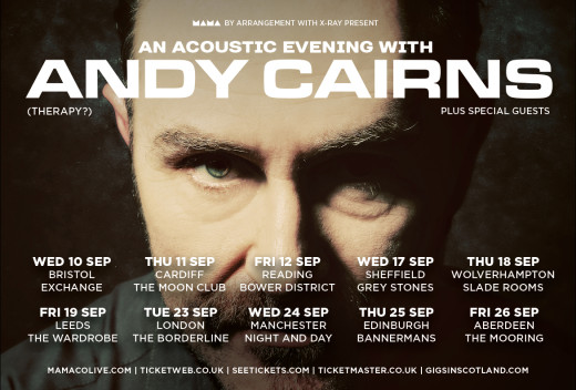 Andy Cairns acoustic tour 2014